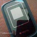 FREETEL×ARIA2(フリーテル×アリア2)で簡単ラクラク設定、使用レビューなど。